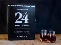 Rumový kalendář 2019 24×0,02l 40% + 2x sklo GB