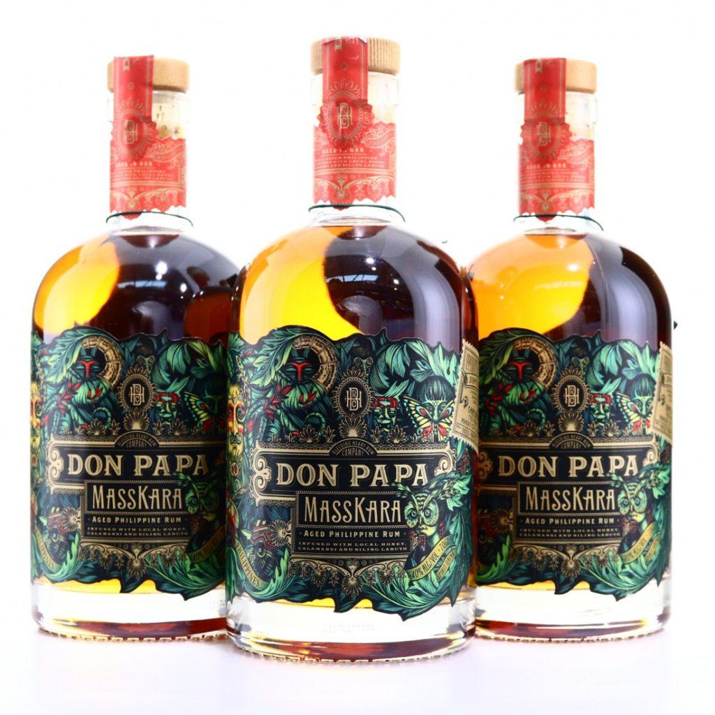 Rum Don Papa Masskara – filipínská exotika
