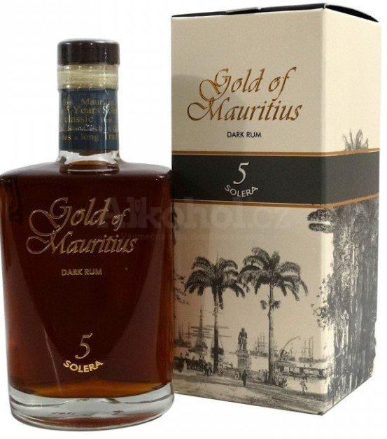 Gold of Mauritius Solera 5y 0,7l 40%