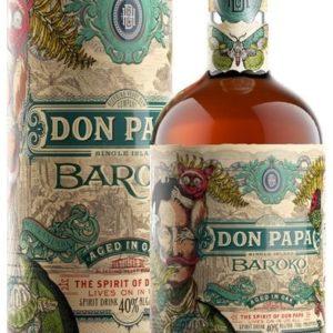 Don Papa Baroko 0,7l 40% L.E. Tuba