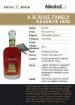 A.H.Riise Family Reserve 1838 25y 0,04l 42%