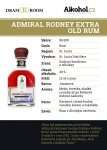 Admiral Rodney Extra Old Rum 0,04l 40%