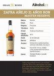 Zafra Master Reserve 21y 0,04l 40%