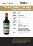 Transcontinental Rum Line Guadeloupe 2013 0,04l 43%