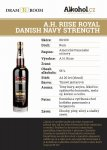 A.H.Riise Royal Danish Navy Strength 20y 0,04l 55%