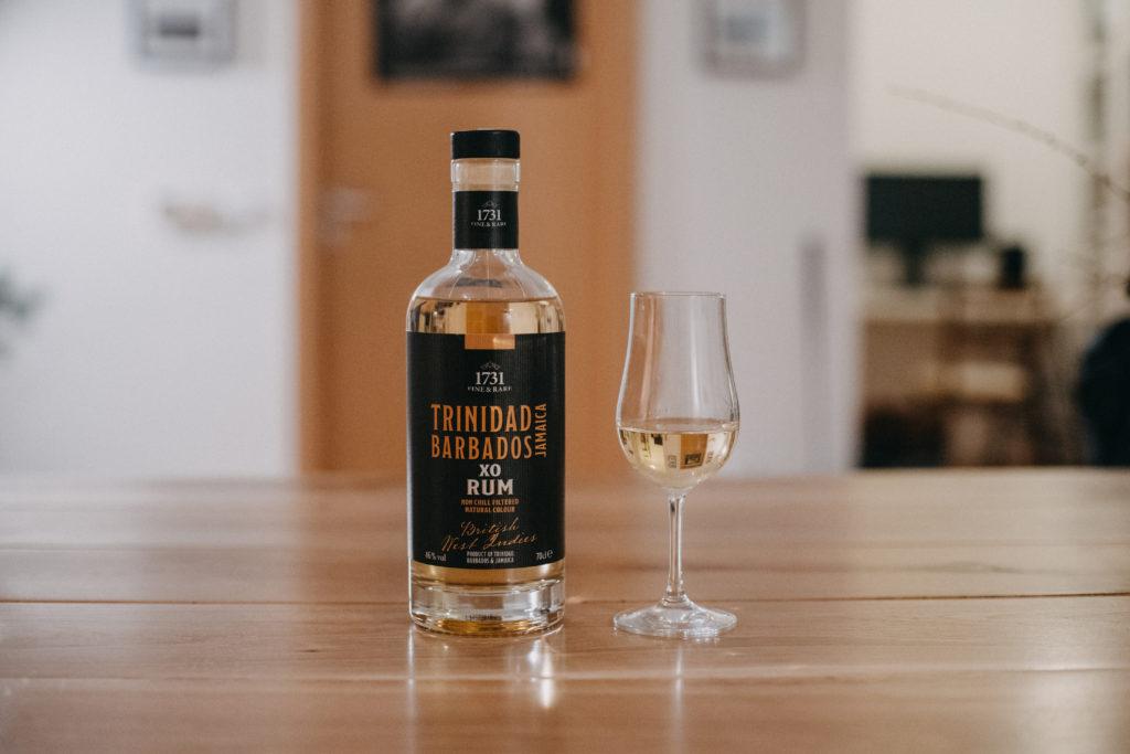1731 Fine & Rare British West Indies Rum XO