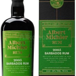 Albert Michler Single Cask Barbados 15y 2005 0,7l 48% GB