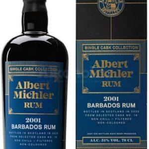 Albert Michler Single Cask Barbados 19y 2001 0,7l 51% GB